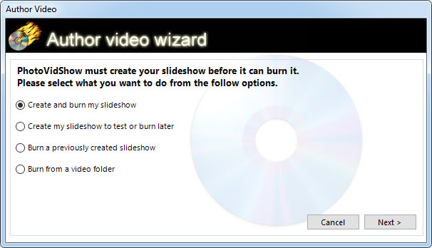 photovidshow user manual how to burn your project to cd or dvd rh photovidshow com ISO 26000 Mount ISO